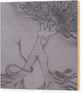A Dance With The Wind Wood Print