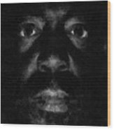 A Dark Proud Man Wood Print