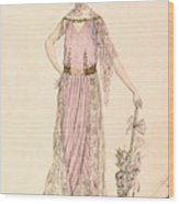 A Day Dress Wood Print