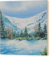 A Day In Tuckerman's Wood Print