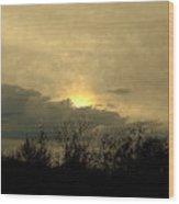 A  December Sunset 2 Wood Print