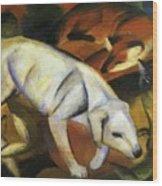 A Dog 1912 Wood Print