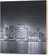 A Dream Of Manhattan Wood Print