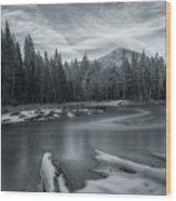 A Dry Winter 1 Wood Print
