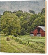 A Farmer's Pride Wood Print