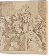 A Fellow Of Maudlin Wood Print