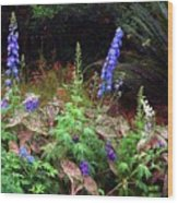 A Field Of Wildflowers Wood Print