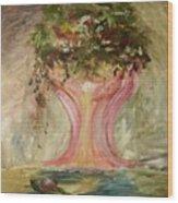 A Floral Representation Wood Print