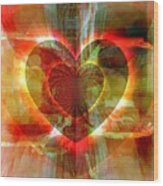 A Forgiving Heart Wood Print