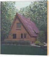 A-frame Wood Print