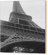 A French Landmark Wood Print