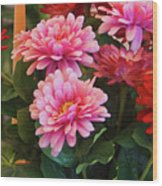 A Fresh Bouquet Wood Print