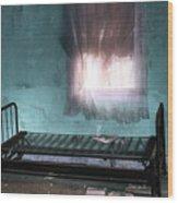 A Glow Where She Slept Wood Print