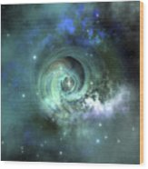 A Gorgeous Nebula In Outer Space Wood Print