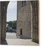 A Gothic View II Wood Print