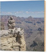 Grand Canyon Viewpoint Wood Print