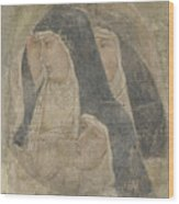 A Group Of Poor Clares Wood Print