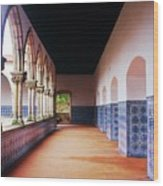 A Hall With History Wood Print