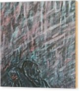 A Hard Rain Gonna Fall Wood Print
