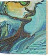 A Healing Earth  Wood Print