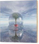 A Healing Environment Wood Print