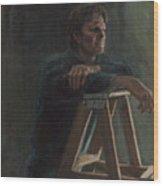 A. Hervold Wood Print