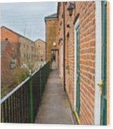 A High Walkway/alleyway Wood Print