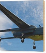 A Hunter Joint Tactical Unmanned Aerial Vehicle Wood Print