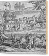 Chariot Of Apollo Wood Print