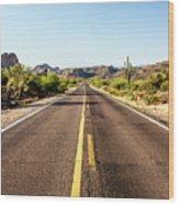 A Journey Through Arizona Wood Print