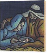 A King Is Born Wood Print by Kamil Swiatek