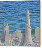 A Kingdom By The Sea Wood Print