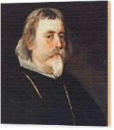 A Knight Of The Order Of Santiago Diego Rodriguez De Silva Y Velazquez Wood Print