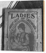 A Ladies Memories Wood Print