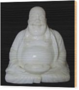 A Laughing Buddha Brings Good Luck Wood Print