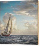 A Life At Sea Wood Print