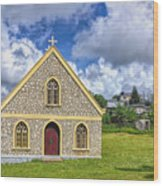 A Lovely Jamaican Church Wood Print