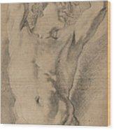 A Male Herm Wood Print
