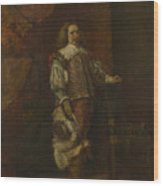 A Man In   Th Century Spanish Costume Wood Print