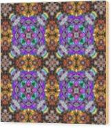 Arabesque 100 Wood Print