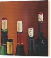 A Maryland Wine Party Wood Print by Brien Cole