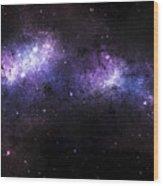A Massive Nebula Covers A Huge Region Wood Print by Justin Kelly