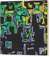 A Maze Thing - 01ac05 Wood Print