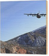 A Mc-130j Combat Shadow II Aircraft Wood Print