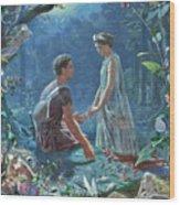A Midsummer Wood Print