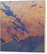 A Mile Deep Wood Print
