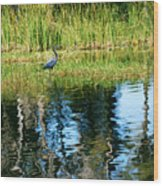 A Monet Moment Wood Print