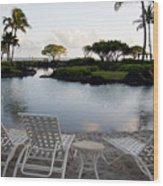 A Morning In Kauai Hawaii Wood Print by Susan Stone