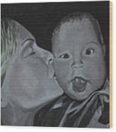 A Mothers Love Wood Print