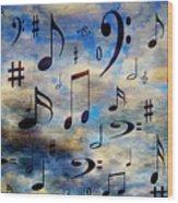 A Musical Storm 3 Wood Print